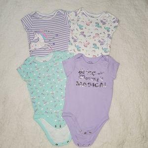 Baby Favorites Magical Bodysuit Bundle 12m